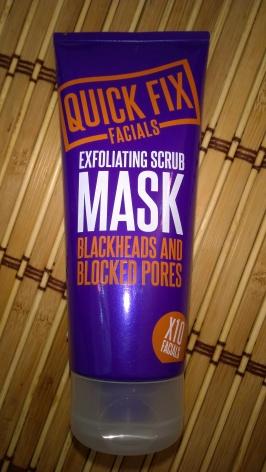 Quick Fix Facials Exfoliating Scrub Mask