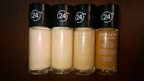 Revlon Colorstay Foundations