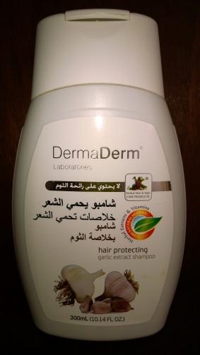 DermaDerm Garlic Shampoo