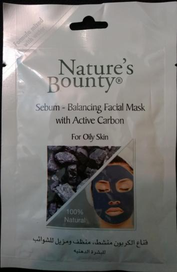 Nature's Bounty Oily Face Mask